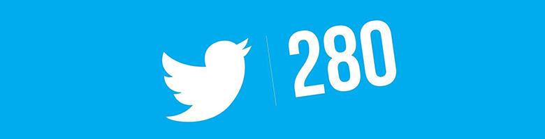 280 کاراکتری شدن توییتر