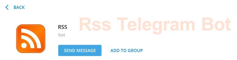 ربات تلگرامی Rss - Rss to Telegram برای پیگیری لحظه ای منابع آنلاین و وبلاگ ها و ارسال آن به تلگرام